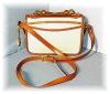 Click to view larger image of Tan & Cream DOONEY & BOURKE Shoulder Bag (Image2)