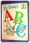 1963 Dr. Seuss A B C Childrens Book