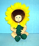 Click to view larger image of Anne Geddes 15 Inch Sunflower Doll... (Image1)