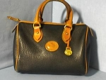 Bag DOONEY & BOURKE  USA Black  Tan Leather Dr