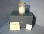 Click here to enlarge image and see more about item 0902200220: Glass 24Kt Gold Lenox Candle Holder/Candle