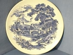 Click here to enlarge image and see more about item 0902200223: 10 Inch Blue Wedgewood Countryside Plate