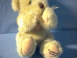 Click here to enlarge image and see more about item 0902200250: Jointed Priscilla Hillman Dakin Teddy Bear
