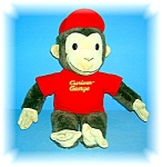 Click here to enlarge image and see more about item 0905200603: CURIOUS GEORGE PLUSH TOY 18 INCHES TALL