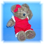 Click here to enlarge image and see more about item 0905200612: BOYDS BEAR TEDDY BEAR ALEXANDRA