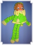 CLOWN DOLL HAND MADE CROCHET