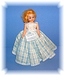 Click to view larger image of VINTAGE JOINTED DOLL HARD PLASTIC BLUE SLEEP EYE (Image1)