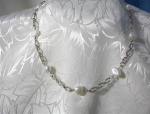 Necklace Sterling Silver & Freshwater Pearls