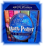 Click to view larger image of HARRY POTTER HARDCOVER BOXED SET (BKS 1-5) J. K ROWLING (Image1)