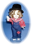 Click to view larger image of 8 1/2 Inch IDEAL Doll ? Annie ? Shirly Temple (Image1)