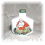 Click here to enlarge image and see more about item 09092005g: HAND PAINTED SNUFF BOTTLE