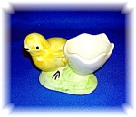 Click here to enlarge image and see more about item 0909200603: EGG CUP BABY CHICK CERAMIC