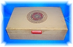 Click here to enlarge image and see more about item 0909200631: VINTAGE JEWELRY BOX WITH MIRROR