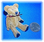 Click to view larger image of MINITURE TEDDY BEAR JOINTED (Image1)