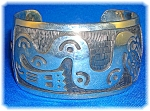 Click here to enlarge image and see more about item 09112006208: Bracelet 950 Sterling Silver Signed SUZI Mexico