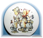 Click here to enlarge image and see more about item 0913200577: BANK - Goebel Hummel Hansel & Gretel Money Bank . .
