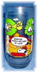 Click here to enlarge image and see more about item 0914200503: CAMP SNOOPY COLLECTOR GLASS