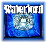 Click here to enlarge image and see more about item 0914200610: Waterford Crystal Clock Original Box