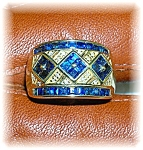 Click to view larger image of Ring 14K Yellow Gold 1/2ct Sapphire  (Image1)