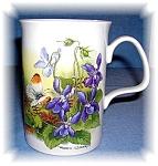 Click to view larger image of DUNOON TEA COFFEE MUG FINE BONE CHINA Spring (Image1)