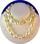 TROCA Mother of Pearls 30 Inch Necklace