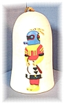 Wonderful Signed Pottery Kachina Doll Bell