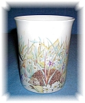 Click here to enlarge image and see more about item 0917200506: Fine Bone China Cup made in England Wood land Scene