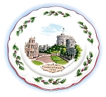 Wedgewood Christmazs 1980 Windsor Castle