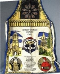 Click here to enlarge image and see more about item 0918200233: English COTSWOLD TEXTILES Cotton Apron