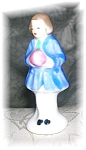 2 Inch Tall Cina Figurine Made In Japan