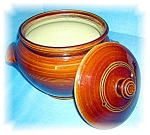 Click here to enlarge image and see more about item 0920200530: BAKED BEAN POT WITH LID.