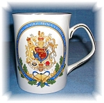 Click here to enlarge image and see more about item 0920200533: Royal Wedding, tea mug, Elizabethan Fine bone china