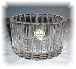 Click here to enlarge image and see more about item 0920200537: 24% LEAD CRYSTAL BOWL MADE IN POLAND