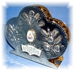 Click to view larger image of JESUS AND MARY NAPKIN HOLDER - GRACE (Image1)