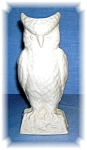 Click here to enlarge image and see more about item 0922200506: Belleek Porcelain Owl Ireland