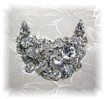 Kramer Crystal Brooch  Pin