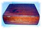 Click here to enlarge image and see more about item 0922200527: National Cash Register wood filing case box