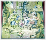 Click here to enlarge image and see more about item 0925200501: MEDIEVAL TAPESTRY - MADE IN FRANCE