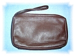 Click to view larger image of Chocolate Brown Stone Mountain Leather Make (Image1)