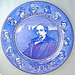 Click here to enlarge image and see more about item 09280801: Royal Doulton Charles Dickens Collector Plate 10 1/4 in