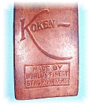 Click to view larger image of VINTAGE KOKEN RAZOR STROP (Image1)