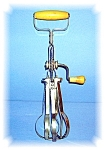 Click to view larger image of VINTAGE, BLUE WHIRL, HAND MIXER, EGG BEATER (Image1)