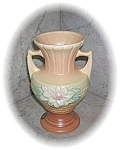 Click here to enlarge image and see more about item 09302005101: 7 Inch Tall Original Label HULL VASE