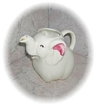 Click to view larger image of Cream & Cranberry Porcelain/Pottery Creamer (Image1)