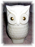 Click here to enlarge image and see more about item 1004200509: AVON OWL AVON SACHET BOTTLE