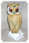 Click to view larger image of PORCELAIN OWLS MADE IN WESTERN GERMANY (Image1)