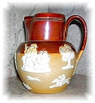 Click here to enlarge image and see more about item 1004200533: DOULTON LAMBETH'S ENGLAND PITCHER