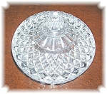 PRESSED GLASS CANDY DISH