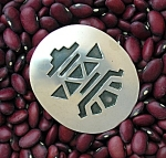 Native American Hopi Sterling Silver Pendant Pin