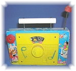 Click here to enlarge image and see more about item 1005200508: FISHER PRICE TV - RADIO - THE FARMER IN THE D
